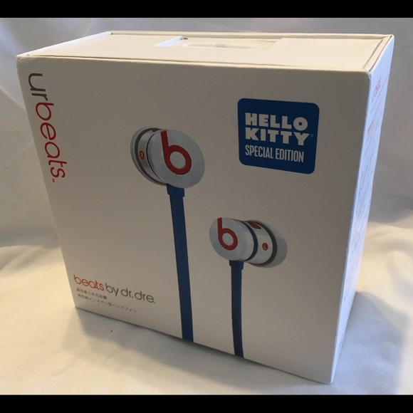 Beats By Dre Accessories Hello Kitty Earbuds Poshmark
